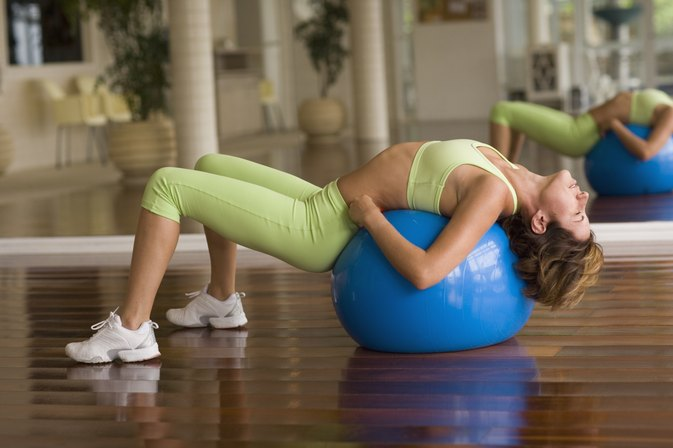 How to Deflate an Exercise Ball