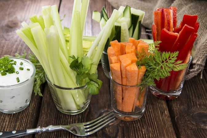 Calories in Celery & Carrot Sticks