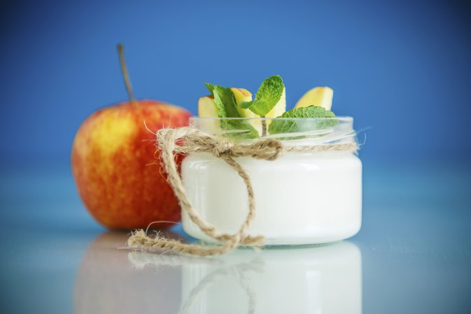 Are Apples & Yogurt Healthy?