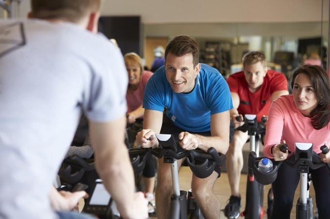 will cycling help lose stomach fat