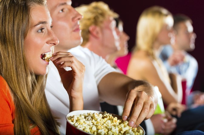 How Many Calories in a Large Movie Popcorn?