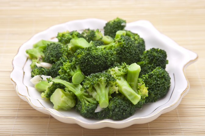 Nutrients for Steamed Broccoli