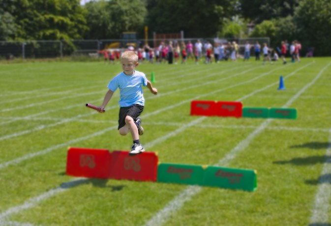 How to Train Kids to Run Hurdles