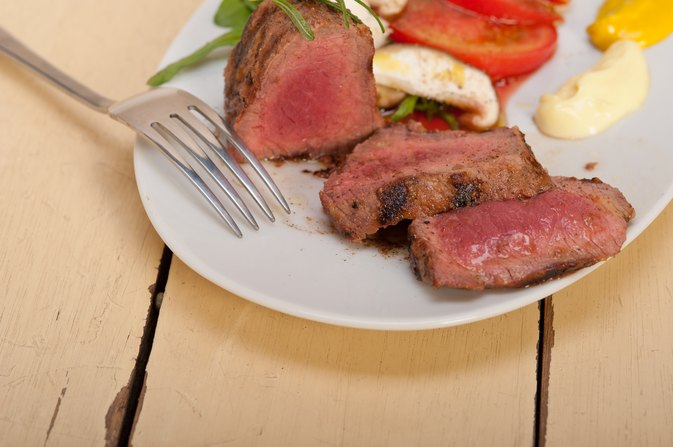 Nutritional Information for New York Strip, Filet Mignon and Rib-Eye