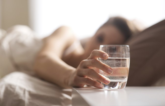 Is It Important to Drink Water Before You Go to Sleep?