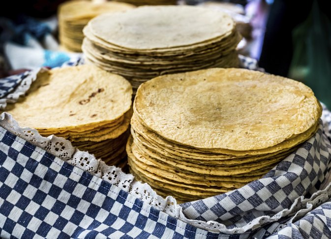 How to Heat White Corn Tortillas