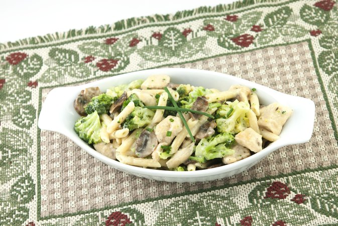 Calories in 1 Cup of Pasta Primavera