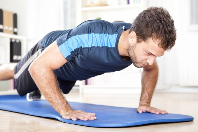 Bodyweight Upper Body and Core Workout