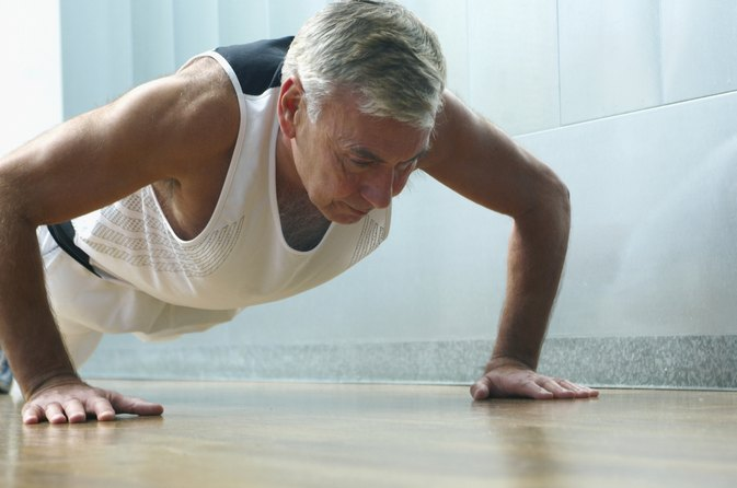 What Is the Average Number of Pushups for Men Over 50?