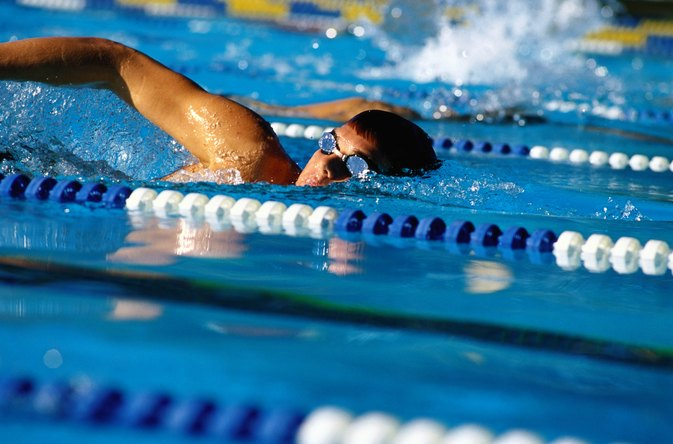 Swimming Strokes for Tricep Muscles