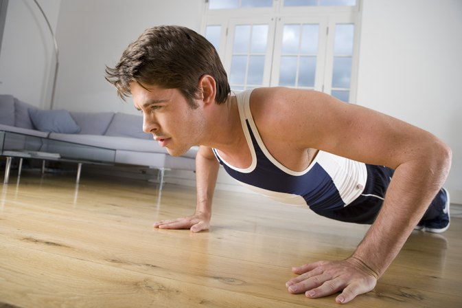 Exercises to improve Pushups