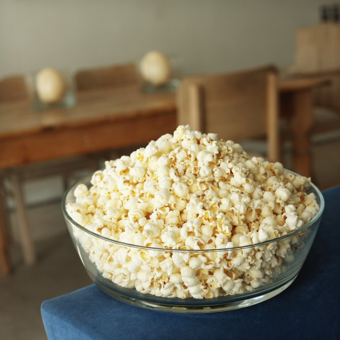Popcorn & the South Beach Diet