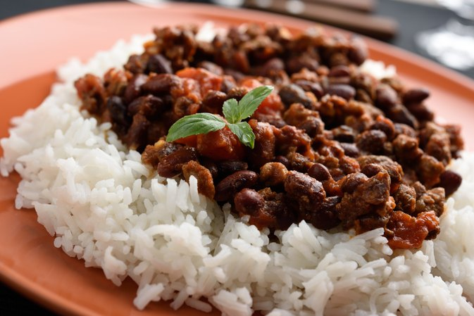 Are Rice & Beans Good for Constipation?