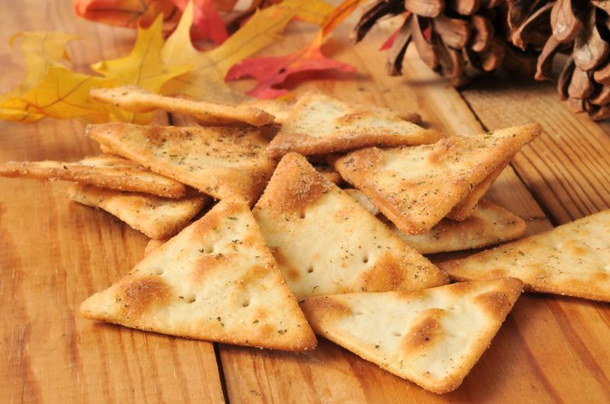 Healthy Snacks With Pita Chips