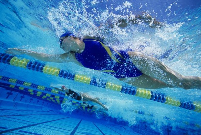 Types of races in competitive swimming livestrong com - How far is 50 lengths of a swimming pool ...