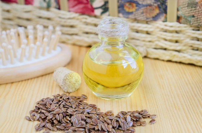 Effects of Flaxseed Oil on Skin Wrinkles