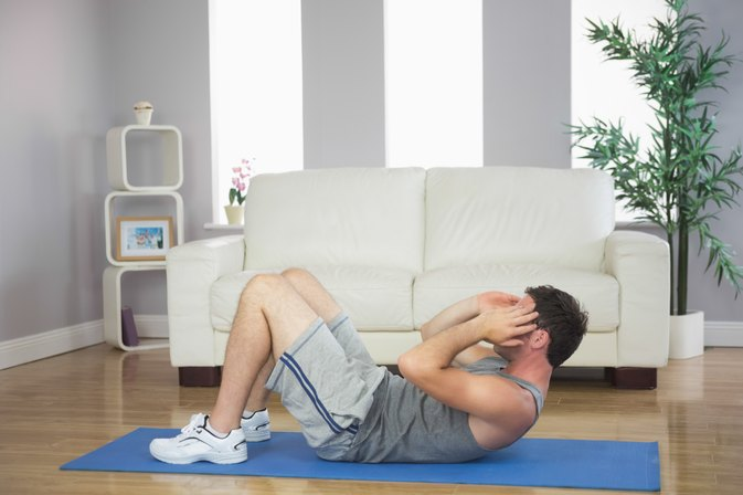 40-Minute, Full-Body, At-Home Workout for Men