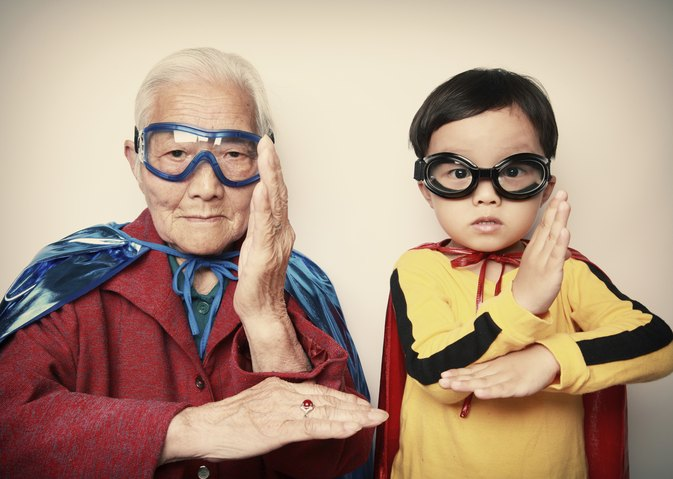 Ideas for Kids to Dress Up Like Old People