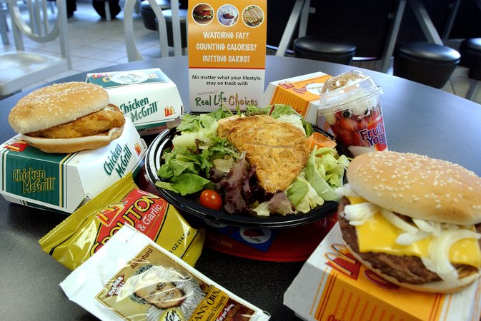 McDonald's Salads Nutrition