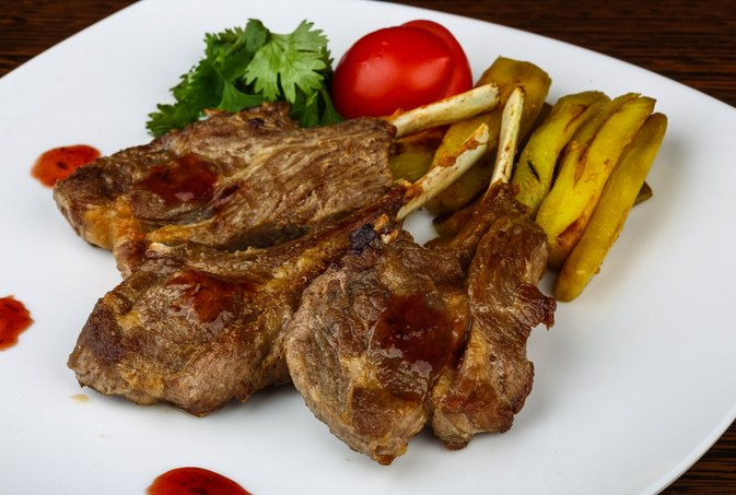 Rib Vs. Loin Grilled Lamb Chop