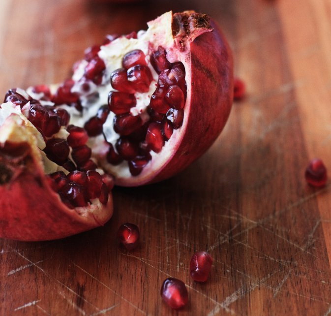 The Calories in Pomegranates