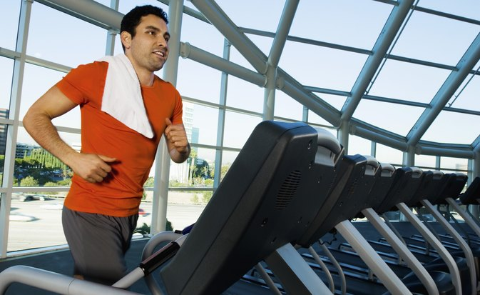 Male Average Pulse With Treadmill Exercise
