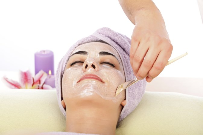 facial treatment images