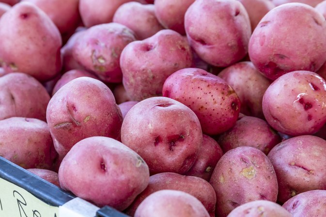 Nutrition Data on Boiled Red Potatoes