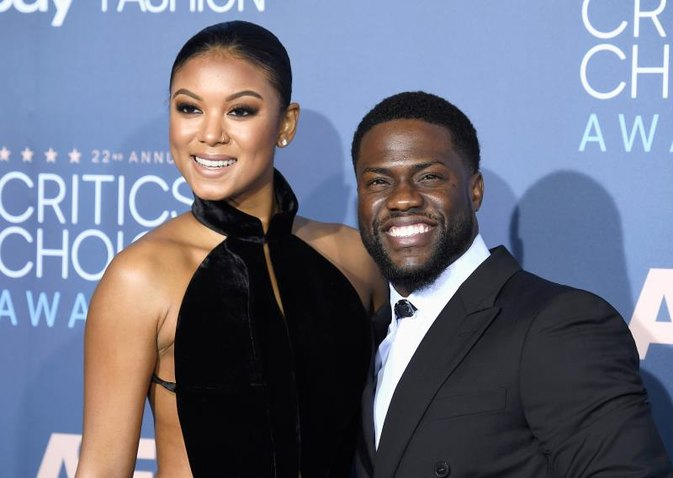 Kevin Hart & Wife Eniko Parrish at the Gym Are Relationship Goals