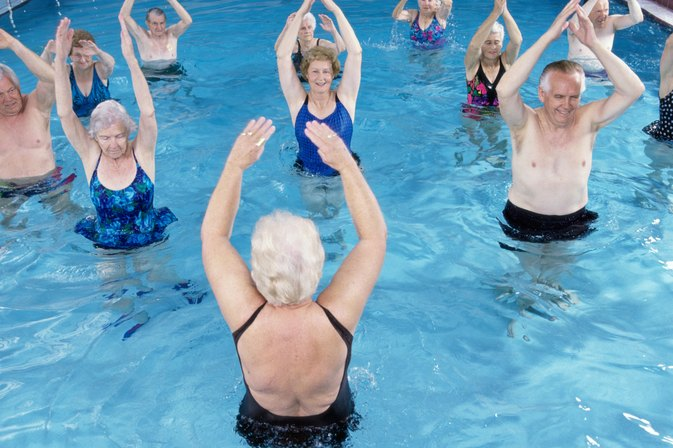 Aqua Pilates Exercises