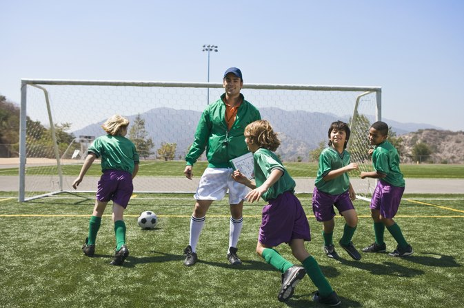 Soccer Practice Drills for Fourth-Graders
