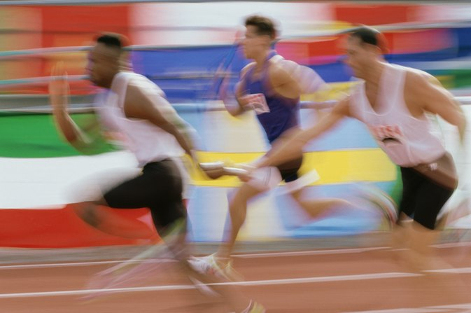 400 Meter Relay Race Rules