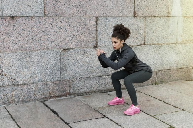 Bodyweight Routines Using Push-Ups and Squats