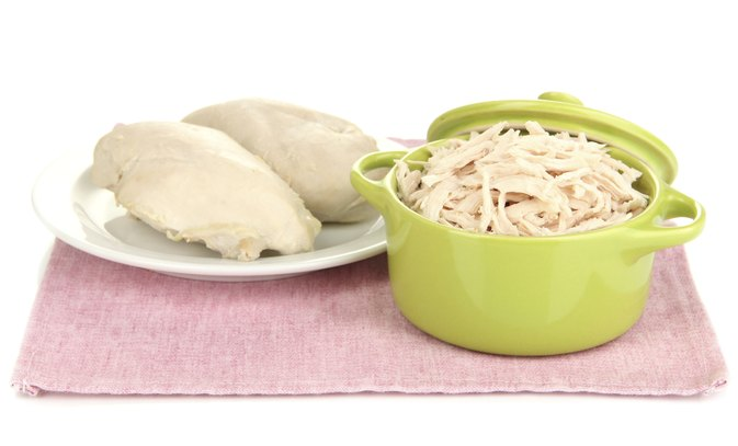 1/3 Cup Shredded Chicken Nutritional Information