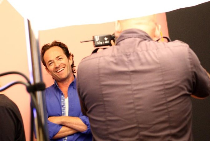 Luke Perry Is the AARP Cover Boy at Age 50 (But Dylan's Still Got It!)