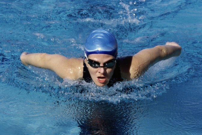 Swimming and the Butterfly Stroke