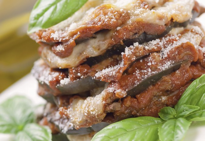 How Many Calories Are There in Eggplant Parmigiana?