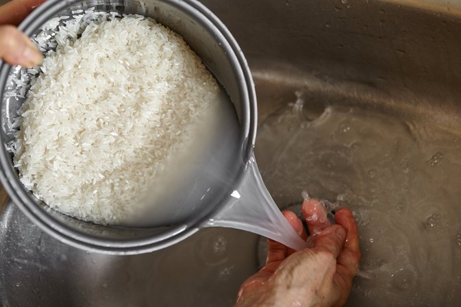 How to Cook Rice Without Starch