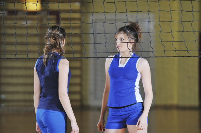 Can You Go Under the Net in Indoor Volleyball?