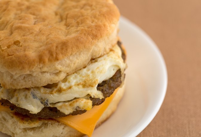 How Many Calories Does a Sausage Biscuit Have?
