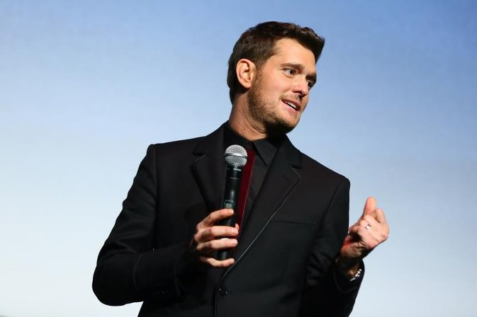 Michael Buble Stops Singing to Care for Son With Cancer