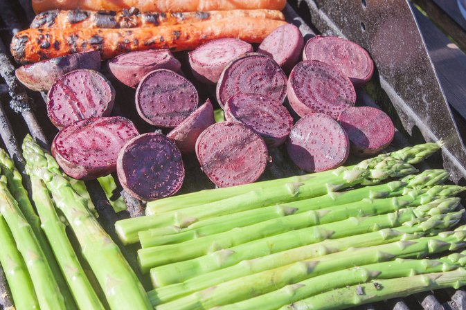 How to Roast Beets on the Grill
