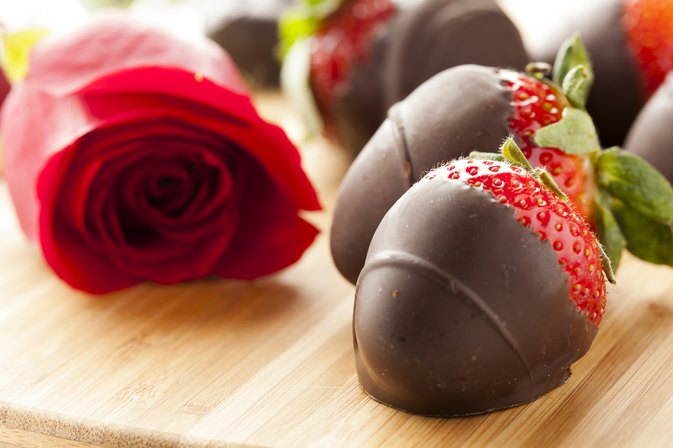 The Calories of Chocolate-Dipped Strawberries in Edible Arrangements