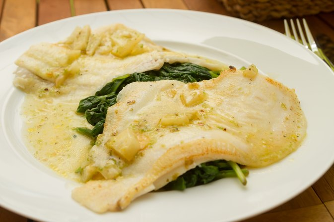 How to Cook a Flounder Filet