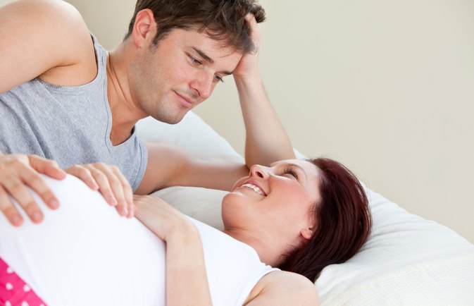 Sexual arousal in early pregnancy