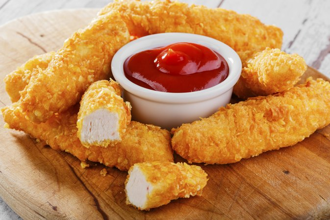 Calorie Facts for Fried & Breaded Chicken Tenders