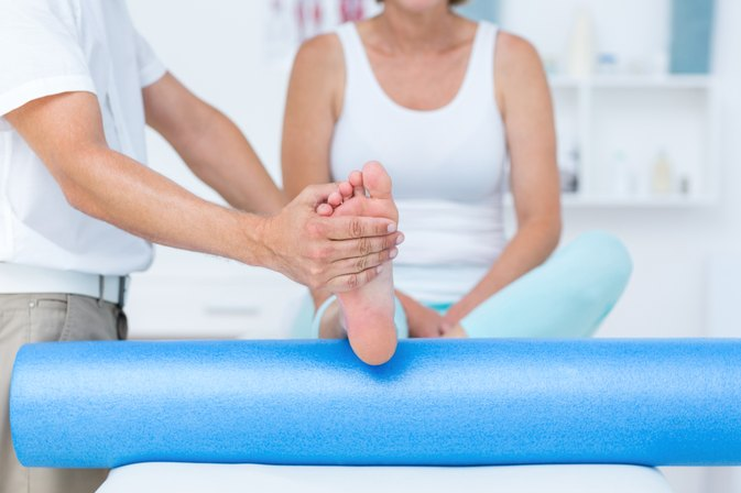 Physical Therapy for a Healed Broken Ankle