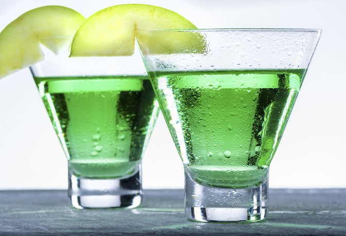 Calories in Smirnoff Green Apple Vodka