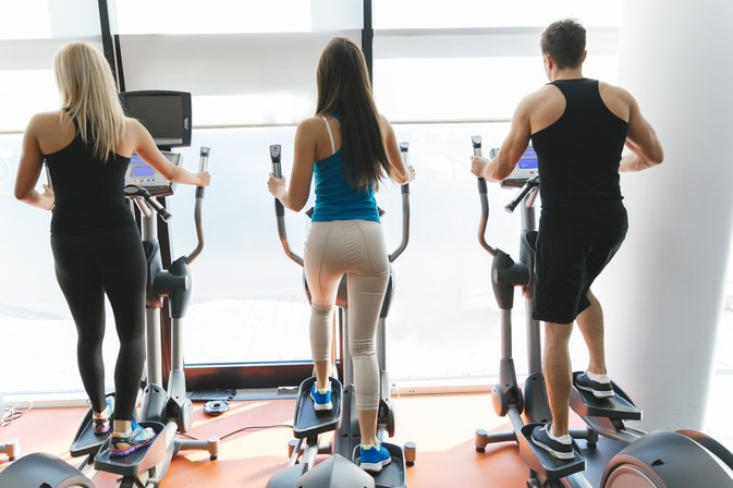 Stretches When Using an Elliptical Trainer