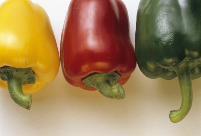 How to Parboil a Bell Pepper